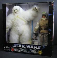 STAR WARS - LUKE SKYWALKER VS WAMPA DELUXE BOX SET - Kenner, 1997. Includes 12