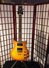 Washburn tabu double cut guitar w/case