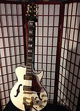Samick Greg Bennett LaSalle Limited Edition Guitar in brilliant pearl white