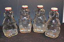 4 GLASS BANKS BY SNOW CREST BEVERAGES MINT 7