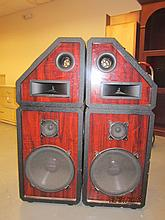 GREAT PAIR OF PRO STUDIO SPEAKER CABINETS - EACH 49