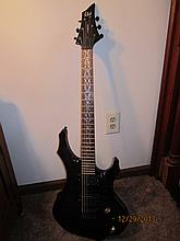 NICE E.S.P. ELECTRIC GUITAR LTD. F-400FM GREAT M.O.P. ON NECK W/ 2 E.M.G. PICKUPS