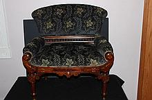 SOLID WALNUT VICTORIAN PHOTOGRAPHERS CHILD'S CHAIR - VERY HARD TO FIND - WONDERFUL AND MINT 28 X 27