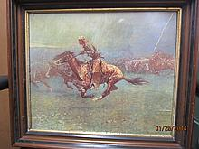 FREDERICK REMINGTON 20 X 17.5