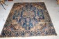 ANTIQUE ORIENTAL RUG WITH BEAUTIFUL HANDWOVEN DESIGNS 78 X 61