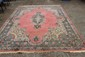 ORIENTAL CARPET SOME WEAR GOOD COLORS 10 X 7.9
