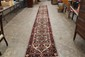 BEAUTIFUL HANDMADE ORIENTAL RUNNER - GREAT COLORS & NEAR MINT - 21' 6