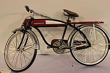 WONDERFUL ROADMASTER ALL METAL BIKE METAL AND CHROME MINT GEM 11