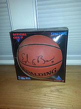 Ed obannon certified rookies autographed basketball