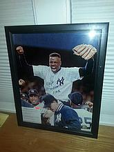 Very nice rare doc gooden Yankees autograph signed