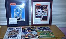 Lot of five recent Yankee greats autographs Rivera, Bernie Williams, Andy Pettitte, Joe Torre, Jeter