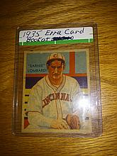 Very rare 1935 earnie Lombardi national chicle error card