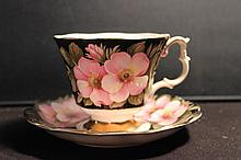 GREAT BONE CHINA ROYAL ALBERT FLORA SERIES ALBERTA ROSE 3