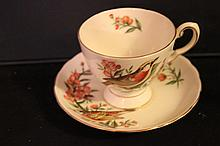 ROYAL CHELSEA CHINA ENGLAND AUDUBON BIRDS CHESTNUT WARBLER - MINT 3
