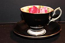 ROYAL ALBERT BONE CHINA ENGLAND CUP AND SAUCER