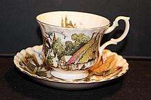 ROYAL ALBERT BONE CHINA ENGLAND MINT GREAT SCENES 3