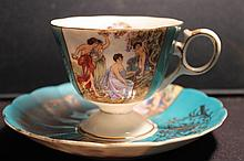 ROYAL HALSEY FINE CHINA MINT 3