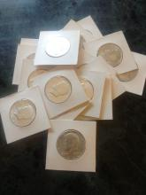 17 - 1964 SILVER KENNEDY'S - ALL IN A.U. COND - $8.50 FACE