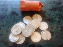 18 - 1961 SILVER WASHINGTON'S - $4.50 FACE