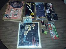 Massive phantom of the opera lot to include many pieces of poster art, rare figures, tapes and movie, plus so much more!!