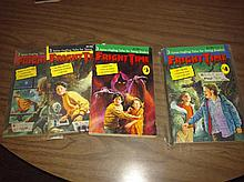 Lot of vintage fright time books 1-6 #1 slaughter house mag body snatchers posterart etc
