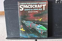 NEAT BOOK SPACECRAFT 2000- 2100 BY STEWART COWLEY 1978 GOOD CONDITION