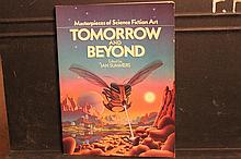 MASTERPIECES OF SCIENCE FICTION ART TOMORROW AND TODAY BY IAN SUMMERS 1978 157 PAGES