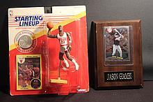1991 STARTING LINEUP MICHAEL JORDAN PLUS JASON GIAMBI