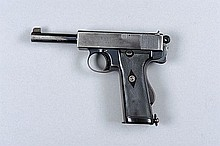 WEBLEY & SCOTT A SCARCE .455 MARK I SELF-LOADING