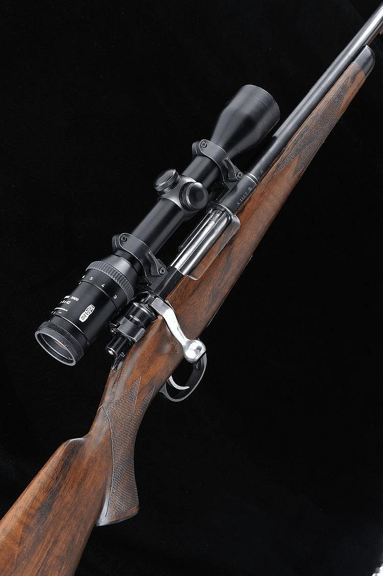 T. T. PROCTOR A FINE 7X57MM TAKE DOWN BOLT-ACTION