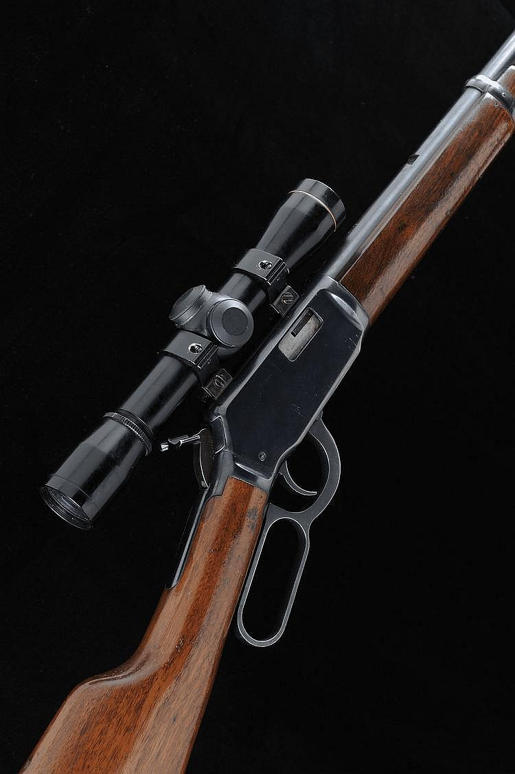 WINCHESTER A .22 MODEL 9422 LEVER ACTION RIFLE,