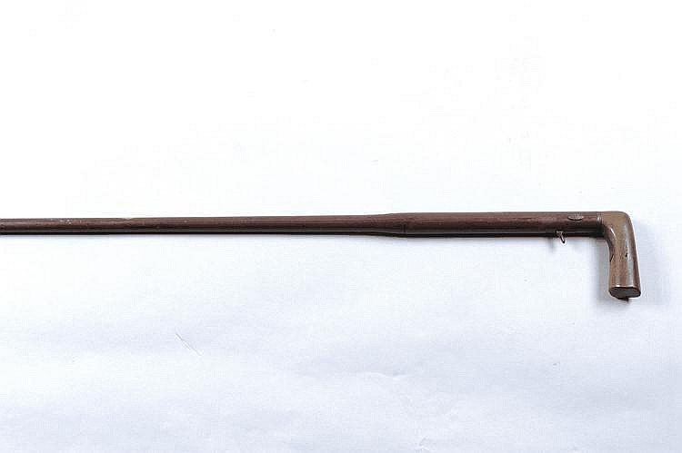 A .410 WALKING STICK SHOTGUN 25 1/4-inch barrel
