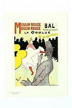MOULIN ROUGE BAL TOUS LES SOIRS LA GOULUE BY HENRI MARIE RAYMOND TOULOUSE-LAUTREC (FRANCE, 1864-1901).