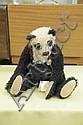 LORI ANN BAKER STUFFED PANDA BEAR. Mohair panda bear named