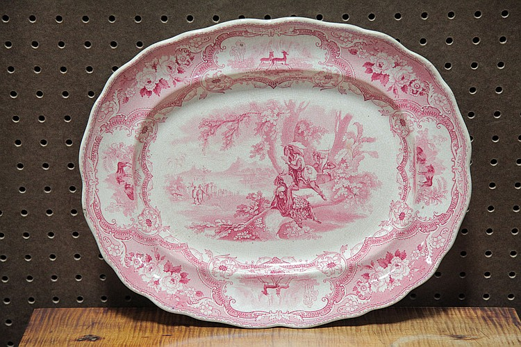 WILLIAM ADAMS & SONS STAFFORDSHIRE PLATTER.