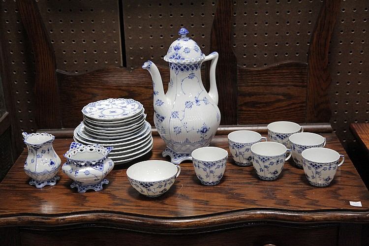 ROYAL COPENHAGEN COFFEE SET.