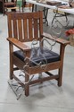 GUSTAV STICKLEY ARMCHAIR.