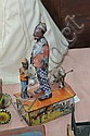 TIN WIND UP TOY. Lithographed Marx