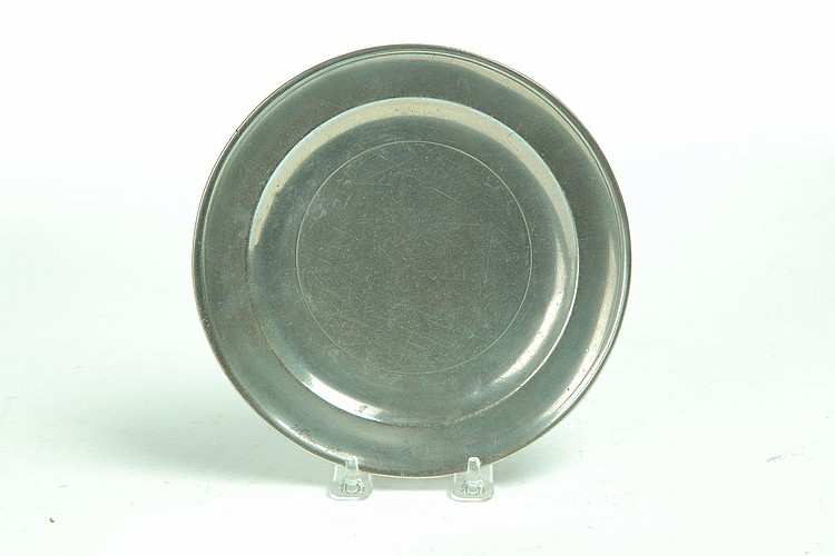 PEWTER PLATE.