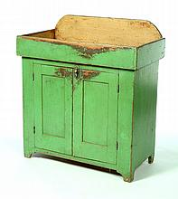 PAINTED DRY SINK.
