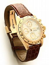 LIMITED EDITION 18K ROSE GOLD INVICTA AUTOMATIC WATCH WITH TRIPLE WINDER.