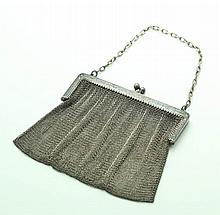 TIFFANY SILVER MESH PURSE