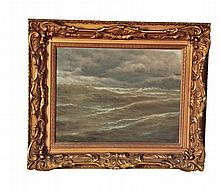 SEASCAPE BY CHARLES GRANT DAVIDSON (BRITISH, 1820-1902).