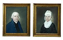 MR AND MRS DAVID WELD BY WILLIAM DOYLE (MASSACHUSETTS, 1769-1828).