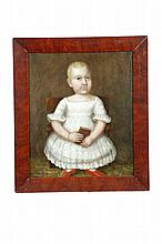PORTRAIT OF A YOUNG CHILD (AMERICAN SCHOOL, 1ST HALF-19TH CENTURY).