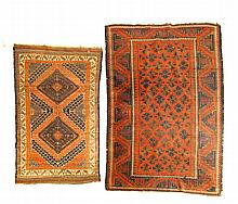 ***THREE ORIENTAL RUGS.
