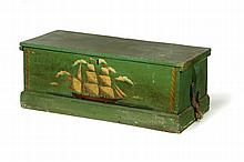 DECORATED SEA CHEST.