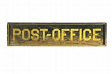 POST OFFICE SIGN.