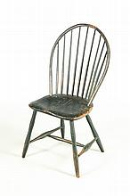 BOWBACK WINDSOR CHAIR.