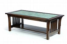 LOW TABLE BY L. & J. G. STICKLEY.